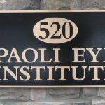 Two tone cast aluminum plaque Paoli, PA
