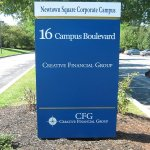 Custom painted aluminum overlays with vinyl graphics - Newtown Square, PA