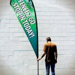 Dye Sublimation feather banner Pocopson, PA
