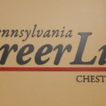 reception signage - flat cut pvc letters for a client in Exton, PA and Philadelphia, PA