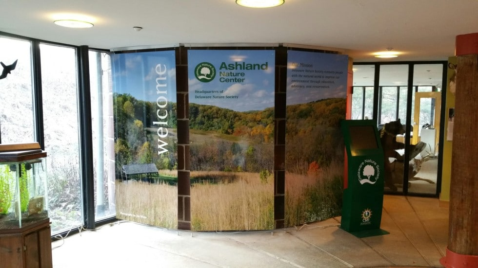 Ashland Nature Center Three Panel Sign