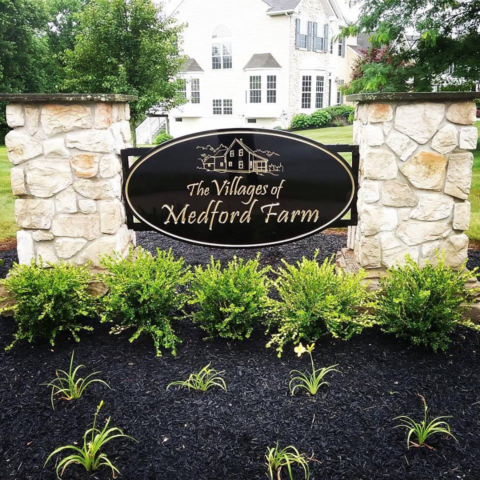 Medford Farm HDU Sign