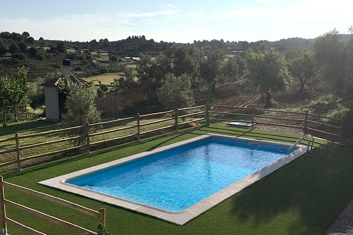 La piscina del Mas de Boné