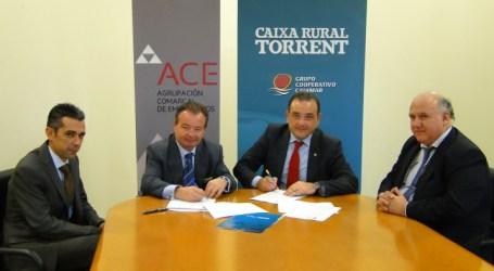 Caixa Rural Torrent y la ACE Alaquàs-Aldaia firman  un convenio de colaboración