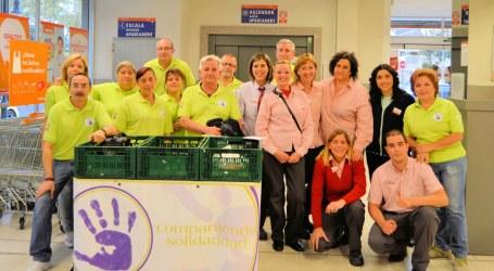 Compartiendo Solidaridad del barrio del Cristo de Aldaia recoge 1.075 kg de alimentos