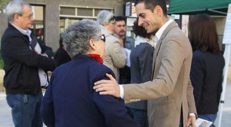 La campaña Alcalde de Barrio se detiene en la zona comercial de Mislata