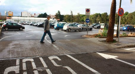 Burjassot mejora los accesos al aparcamiento de Las Palmeras