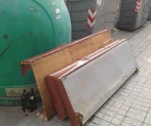 Burjassot recoge en los seis primeros meses del año más de 180 toneladas de enseres, muebles y trastos viejos