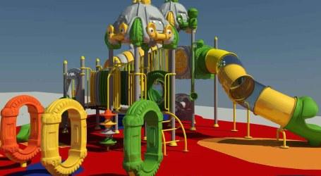 Paiporta ultima el diseño de una doble zona de juegos en la Plaza Italia