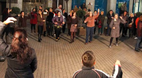 Alaquàs dansa contra la violència de gènere