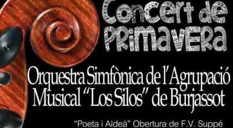 La Agrupación Musical Los Silos de Burjassot da la bienvenida a la primavera con su tradicional concierto