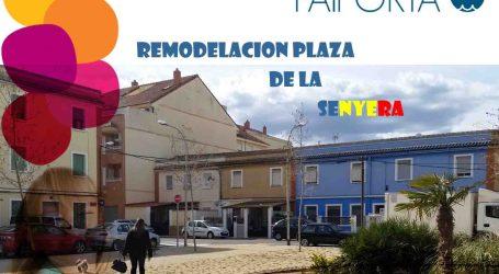 Las plazas La Senyera y Salvador Allende de Paiporta se remodelarán en breve