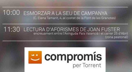 Compromís per Torrent conmemora el 25 d'abril
