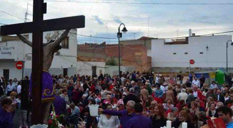 El Cristo de los Necesitados visita el Barrio del Cristo de Aldaia