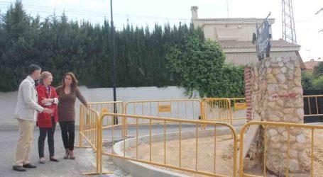 Torrent mejora la accesibilidad de las aceras de El Vedat