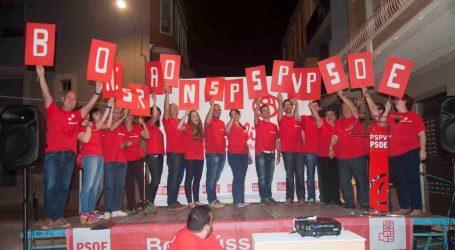 El PSPV de Benetússer inicia la campaña bajo el lema '20 buenas razones'