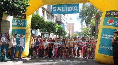 Más de 800 escolares participaron en la XXVIII Carrera Popular Escolar de Torrent