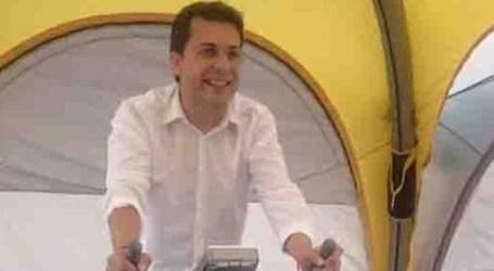 El alcalde de Alfafar pedalea por Nayra