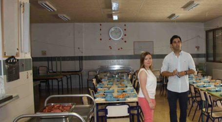 Más de 500 niños de Paterna disponen desde hoy mismo de comedor escolar