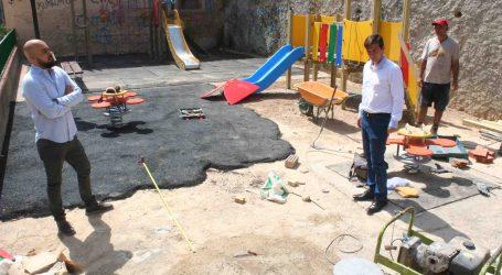 Burjassot mejora y acondiciona las zonas de juegos infantiles