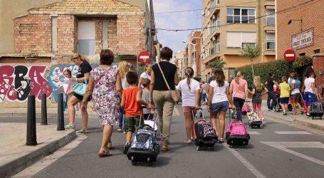 Arranca el cole para los alumnos de Educación Infantil y Primaria