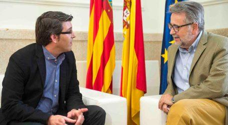 Reunión de trabajo positiva entre el presidente de la Diputación y el alcalde de Albal