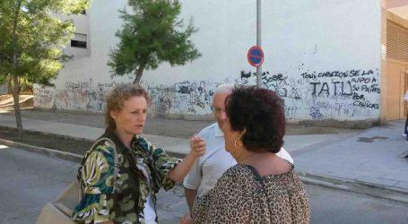 El PP de Torrent pide al Ayuntamiento que limpie un solar junto a la calle Jesús