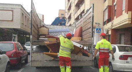 Nemasa certifica que el servicio de recogida de muebles de Mislata funciona con normalidad