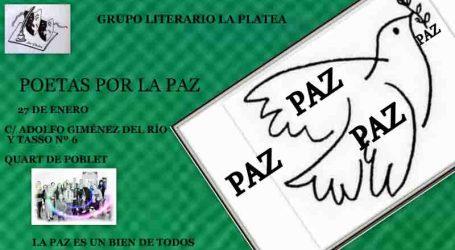 La Platea de Quart de Poblet levanta la voz por La Paz