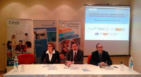 La Diputació de València presenta en Brussel·les els seus programes de beques juvenils