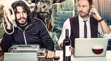 Vaquero y Urrutia llegan al Auditori de Torrent para presentar 'En bruto'