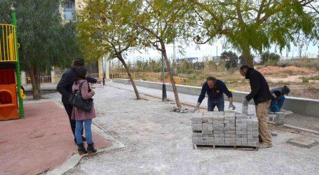 Benetússer remodela las plazas Lepanto y L'Horta para mejorar la accesibilidad