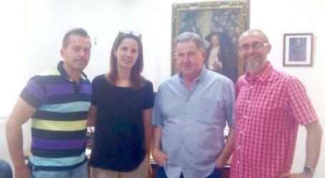 L' alcalde i el regidor d'esports de Massalfassar es van reunir amb el president de la Federació Valenciana de Frontenis i amb el club Gimástic Massalfassar