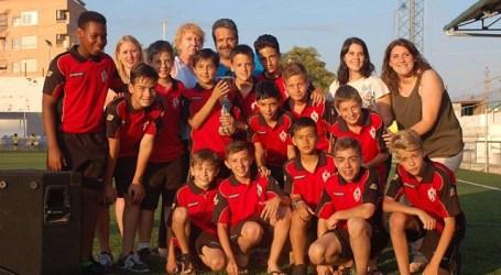 El Burjassot CFy  el Torre Levante, campeones del XII Torneo Ciudad de Burjassot-Memorial Mateo Puchades