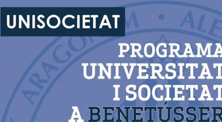 La Universitat de València  llega a Benetússer con el programa 'UNISOCIETAT'
