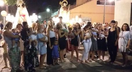 Embarazadas se dan cita en la procesión de San Ramón de Xirivella