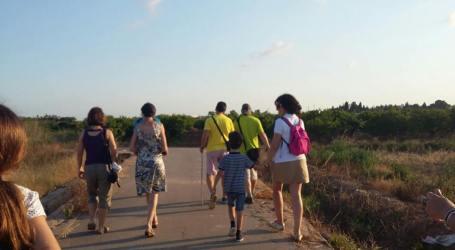 Rutas programadas en octubre por la Huerta de Burjassot