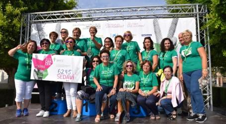 Sedaví recoge más de 6.000 euros en su carrera contra el cáncer