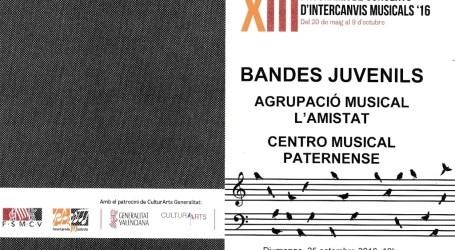 Intercanvi musical juvenil entre Quart de Poblet i Paterna