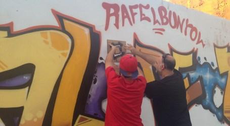 Rafelbunyol promou l'art urbà del grafiti en els seus murs