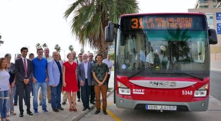 Alboraia celebra la ampliación de la EMT hasta La Patacona