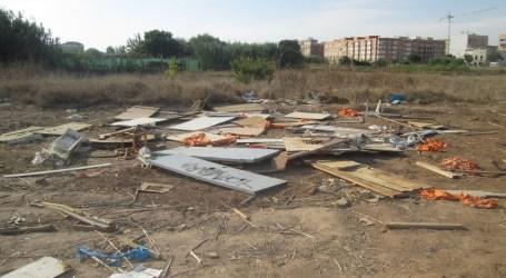 UPyD reclama la limpieza de solares en Quart de Poblet