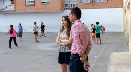 Bielsa pide a la Conselleria que quite los barracones del CEIP Maestro Serrano