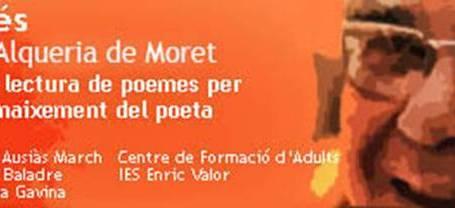 Picanya acull la VII Festa Estellés d'homenatge al poeta