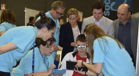 Más de 500 niños y niñas participan en un programa de salud visual en Burjassot