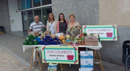 Recogida solidaria de dos toneladas de alimentos en Torrent