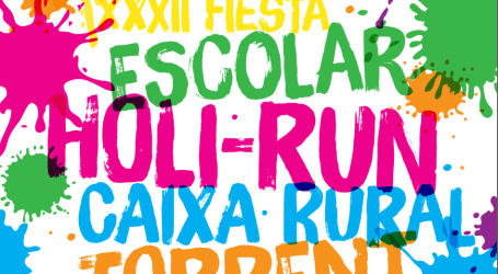 Torrent organiza la XXXII Fiesta Escolar Holi-Run