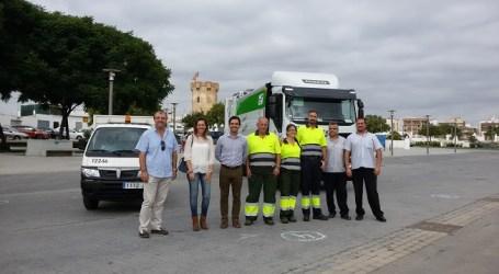 Nova flota de vehicles de neteja a Paterna
