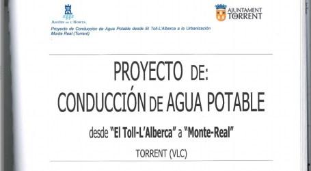 El PP de Torrent dejó en el cajón proyectos de canalizaciones en El Pantano y Monte-Real
