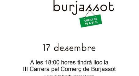Burjassot promociona su comercio con el Día Blanco y una carrera